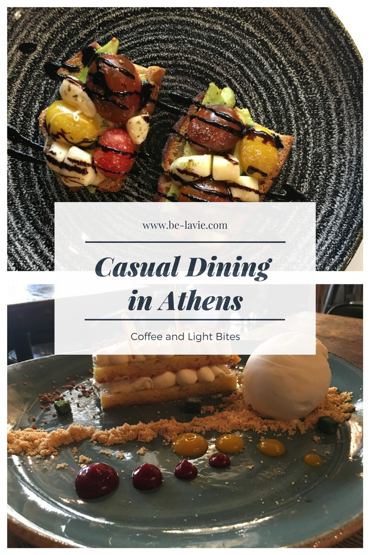 Casual dining in Athens Pinterest Pin