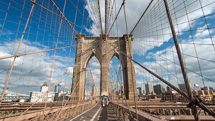 A New York Minimoon The Brooklyn Bridge