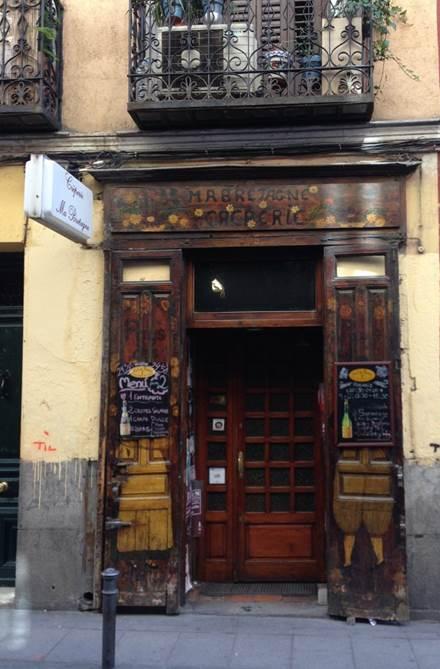 Creparie Ma Bretagne, Madrid