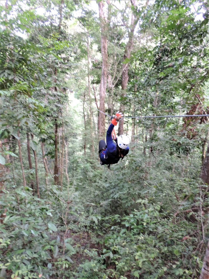 The challenge of living and travelling with Type 1 Diabetes, ziplining in Costa Rica