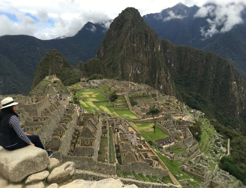 The challenge of living and travelling with Type 1 Diabetes Machu Picchu