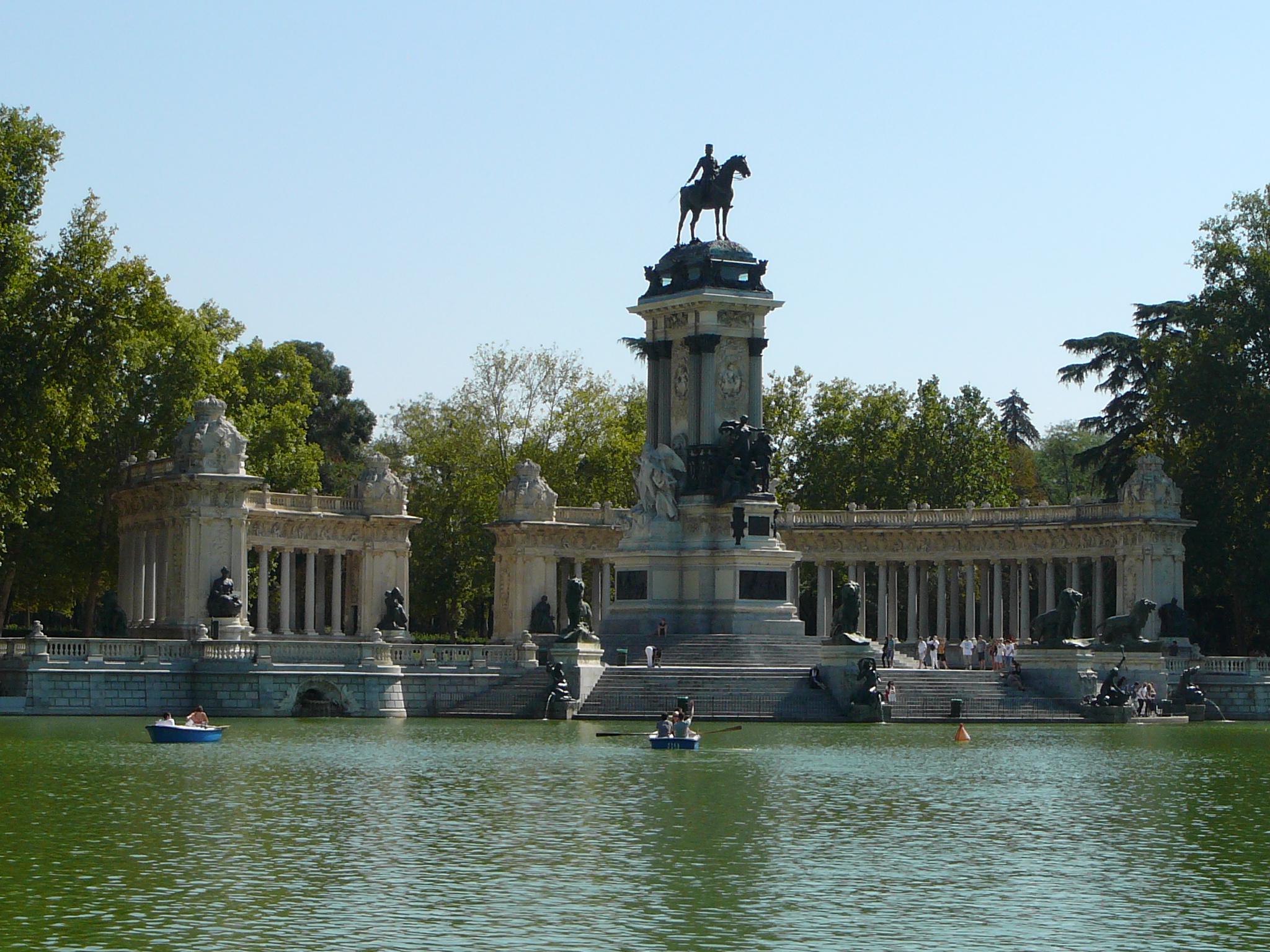 Retiro Park, Madrid