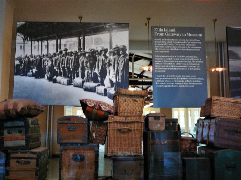 New York minimoon Ellis Island Immigration Museum