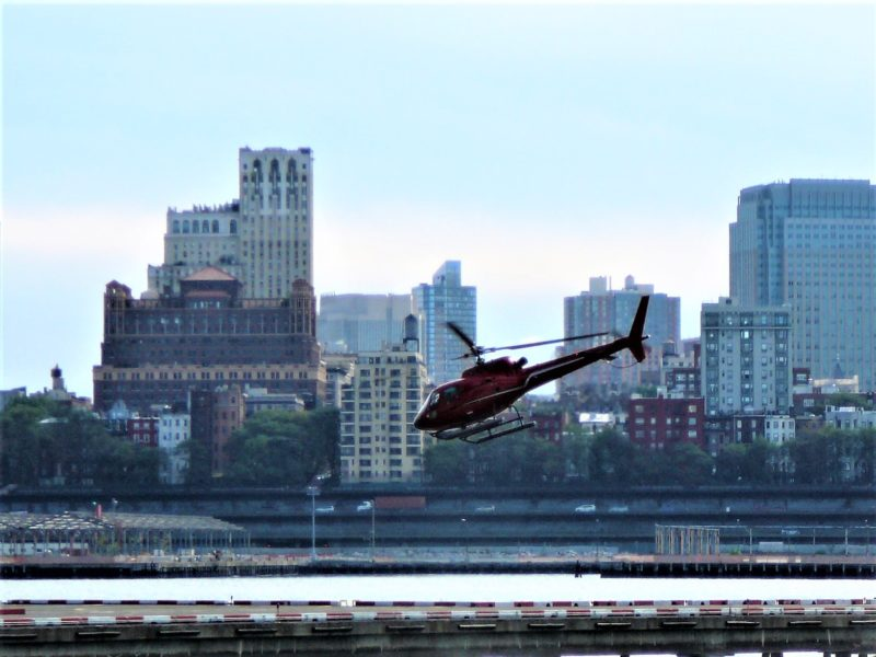 New York minimoon Liberty Helicopter Ride