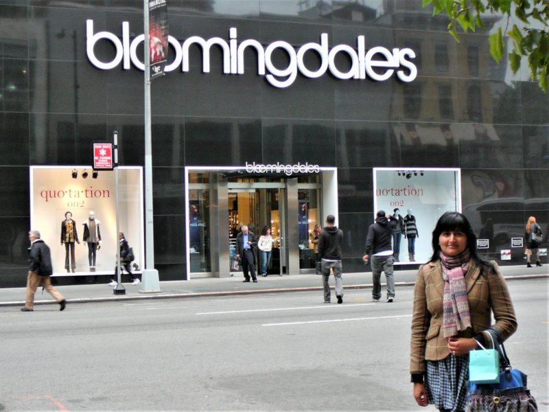 New York minimoon Bloomingdales Fifth Avenue