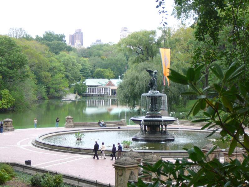 New York minimoon Central Park