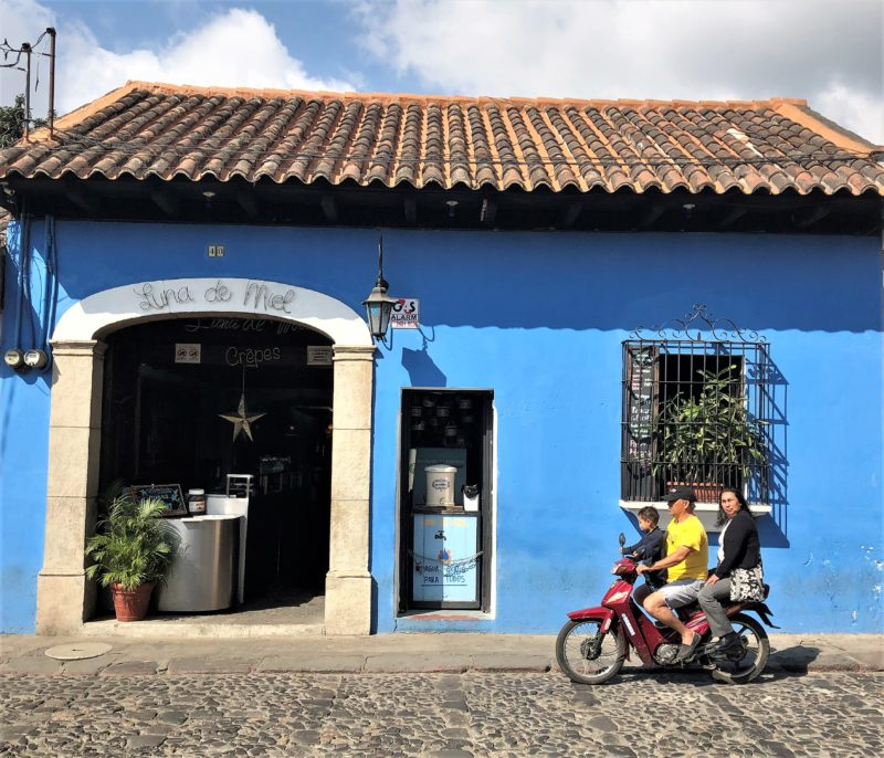 A photo gallery of street life in Antigua, Guatemala