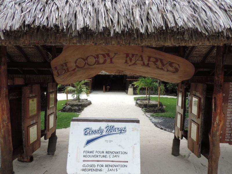 Bora Bora: Island Tour to Bloody Mary's