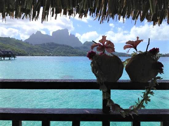 Sofitel Private Island overwater villa balcony