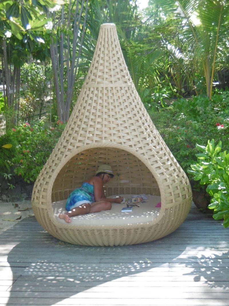 Bora Bora Sofitel Private Island relaxing