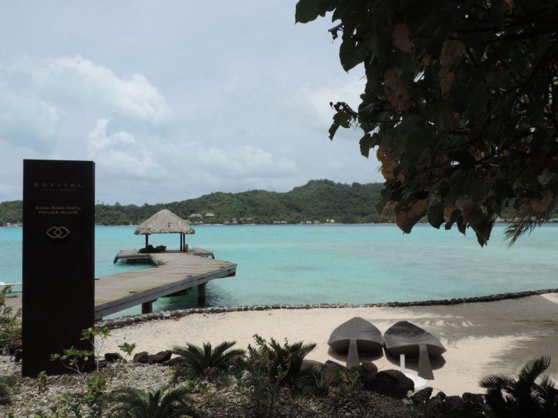 Sofitel Private Island Arrival