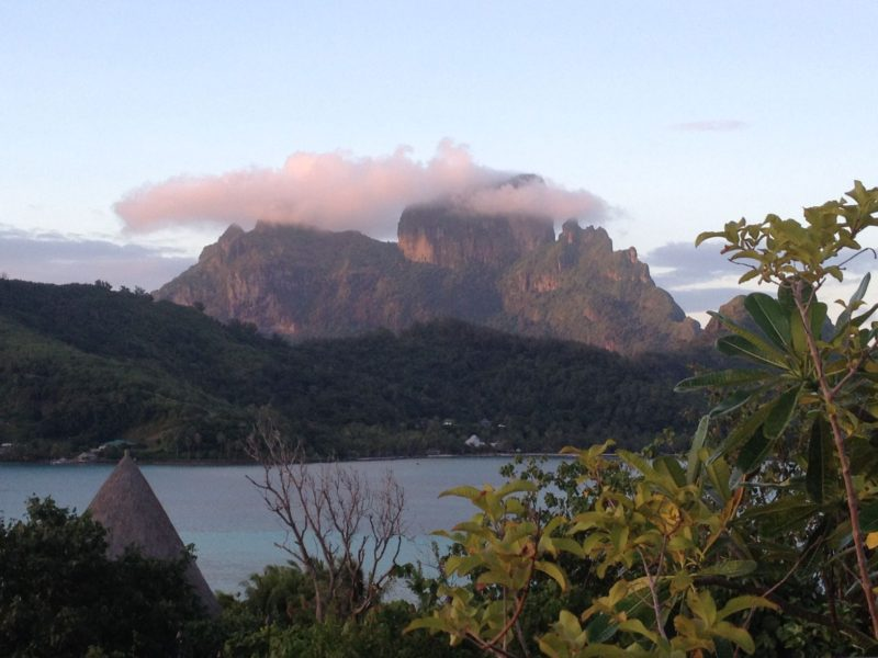 Mount Otemanu Views, Bora Bora