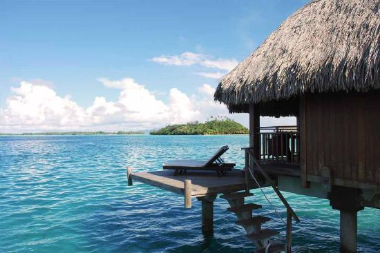 Bora Bora Sofitel Private Island overwater villas