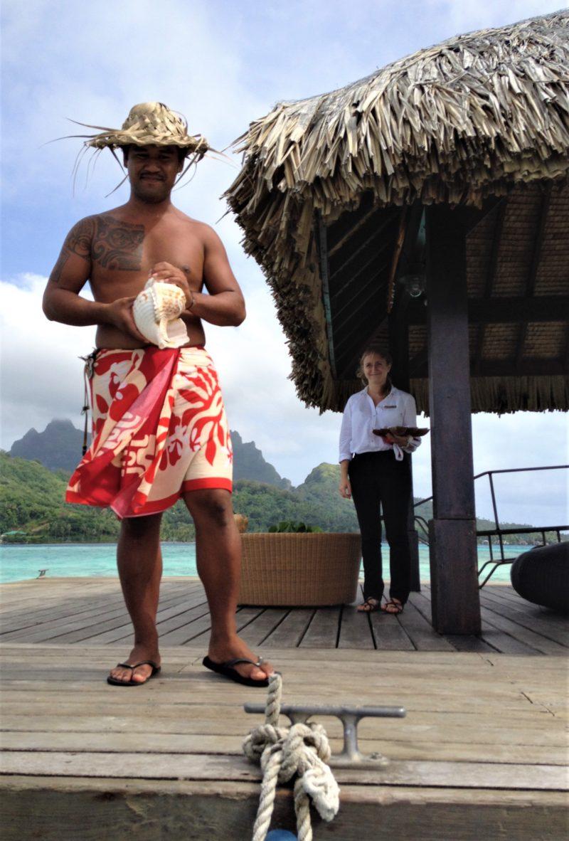 Bora Bora Sofitel Private Island Arrival