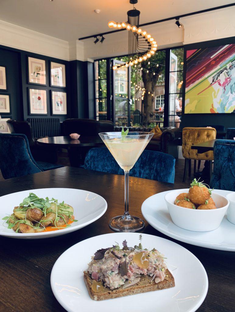 Orton's Brasserie, Modern Seasonal British Food