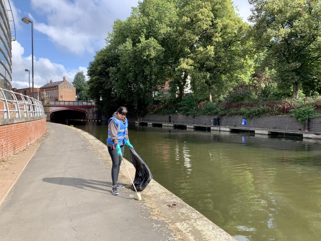Canal Tow Path Clean