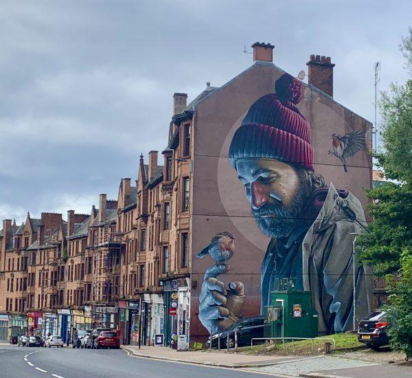 Saint Mungo. Glasgow Mural Trail Map